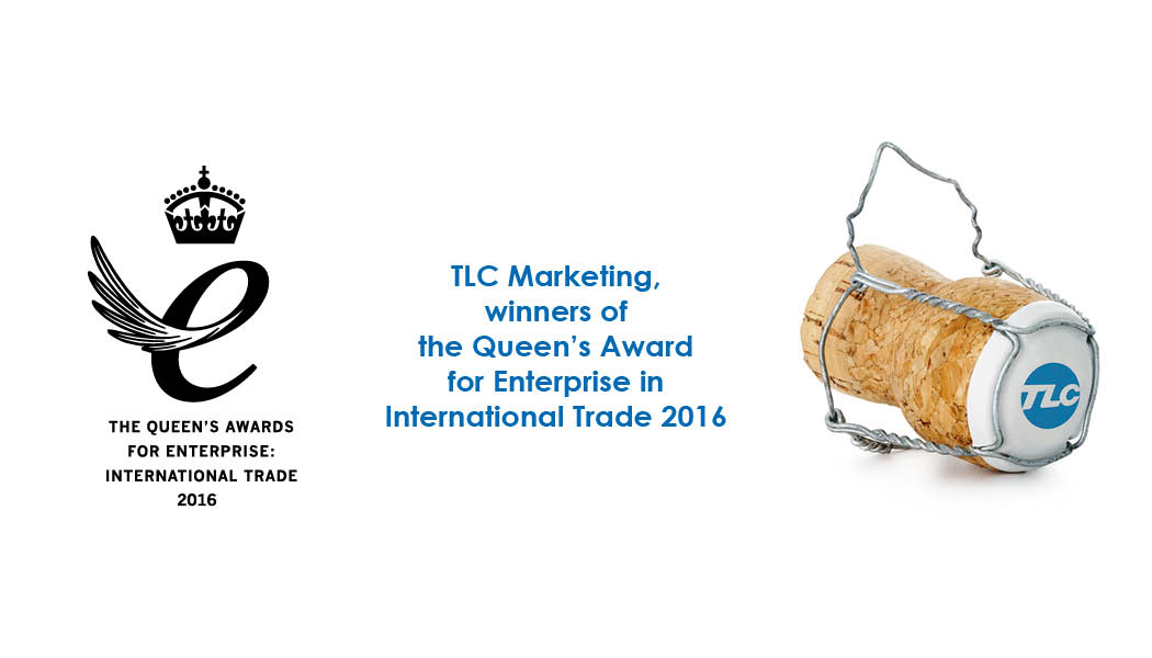 TLC Marketing winners of a Queen's Award for Enterprise in International Trade 2016