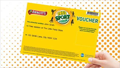 TLC Marketing free kids sports campaign