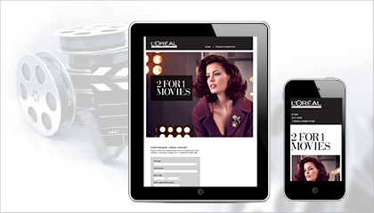 L'Oreal and TLC Marketing deliver customer promotional campaign