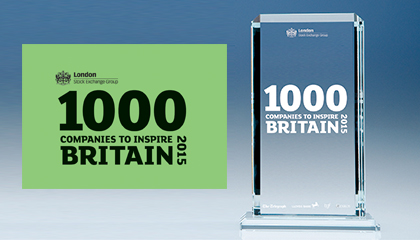 TLC marketing 1000 companies to inspire Britain