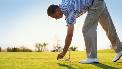 reward customers with golf