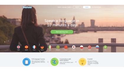 busuu, language, partnerships
