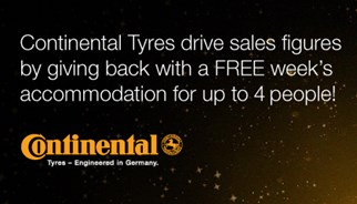 Continental campaign, rewarding multiple purchase with travel rewards