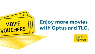 Free cinema tickets from Optus with TLC