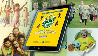 TLC Marketing free kids sports campaign