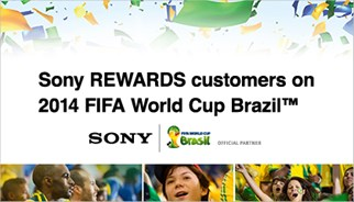 Sony rewards customers on 2014 FIFA World Cup Brazil