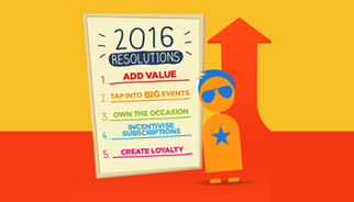New Year resolutions - top tips on how your brand can own 2016