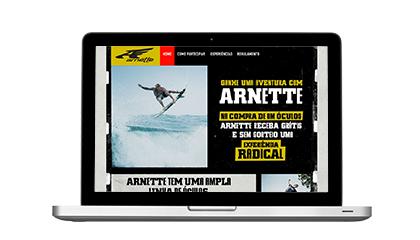 A TLC Marketing lança campanha com a marca de óculos Arnette