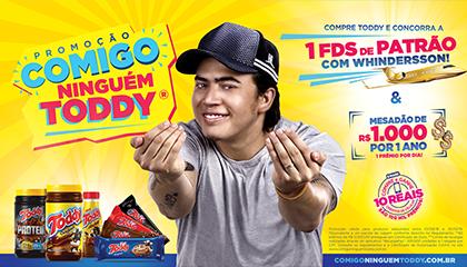 Criada pela TLC Marketing Brasil, a promoção reforça o posicionamento da marca e sua ligação com o garoto-propaganda