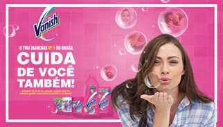 A TLC Marketing lança campanha com a Vanish