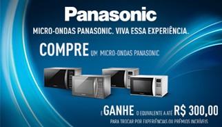 Promoção Panasonic
