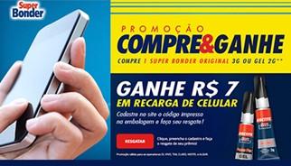 Nova promoção de Super Bonder dá créditos de celular