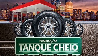 Bridgestone lança promoção Tanque Cheio