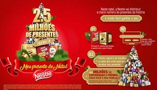 Promoção Nestlé Panettones