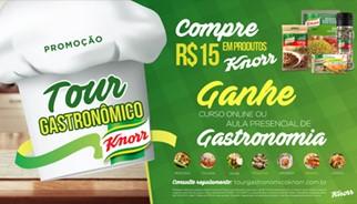 Promoção Tour Gastronômico Knorr