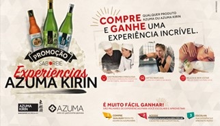 Promoção Saboreie Experiências, Azuma Kirin