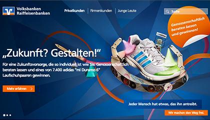 Aktionswebseite BVR TLC Marketing