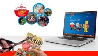 Haribo 2-für-1 Freizeitspaß Ticket Kampagne