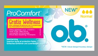 o.b.® Wellness-Momente Aktionspackung
