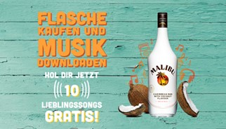 GRATIS SOMMERHITS FÜR ALLE MALIBU KUNDEN MIT TLC MARKETING