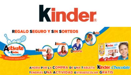 kinder back to school tlc marketing
