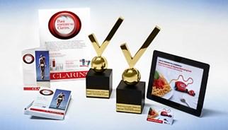 Campaña Clarins premiada