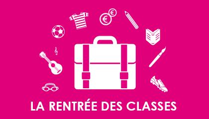 La rentrée des classes 2015