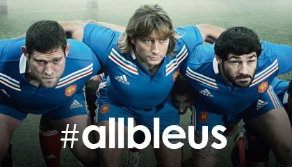 All bleus adidas