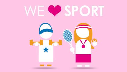 Du côté des planners: We love sport