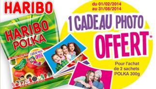 TLC Marketing campagnes avec Haribo Polka, un cadeau photo