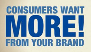 Les consommateurs veulent plus