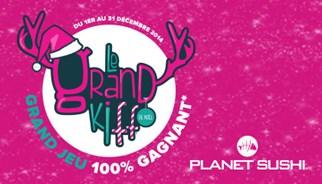 La campagne Planet Sushi avec TLC