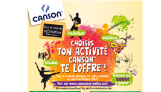 Campagne TLC Marketing pour Canson