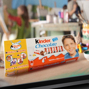 Kinder sales promotion campaign from TLC Marketing