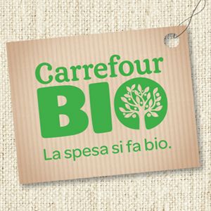 TLC Marketing Carrefour bio campaign from Italy