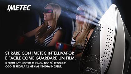 Campagna promozionale Imetec Intellivapor