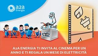 Energia al cinema con TLC Marketing e A2A