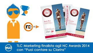 TLC Marketing agenzia campagna promozionale Clarins