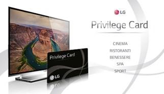 Campagna promozionale TLC Marketing per LG Ultra HD TV