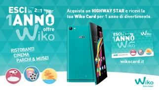 Campagna promozionale Wiko