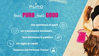Campagna promozionale Puro water collection