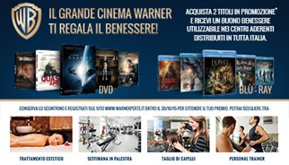 campagna promozionale Warner Bros Entertainment