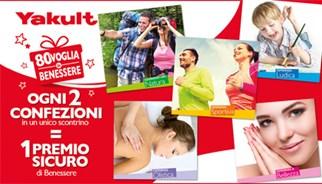 Campagna promozionale Yakult