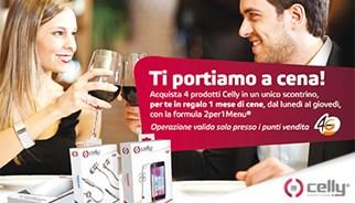 Campagna promozionale Celly