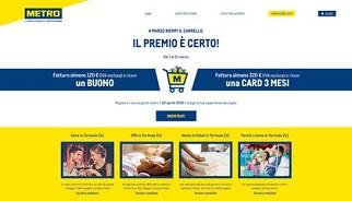 Metro Italia lancia la nuova promozione