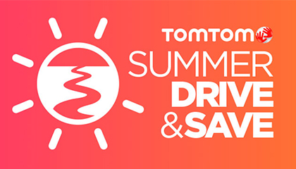 TomTom Summer Drive & Save live