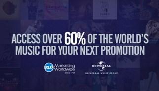 TLC Marketing kondigde vandaag aan een overeenkomst te hebben gesloten met Universal Music Group, het belangrijkste muziekbedrijf ter wereld