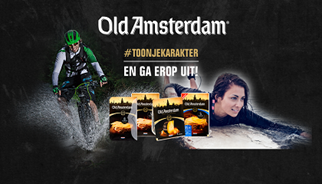 TLC Marketing Campagne Old Amsterdam Toon Je Karakter