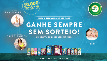 A TLC Marketing e a AirWick levam a primavera a sua casa