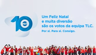 Campanha Natal e 10 anos - TLC Marketing